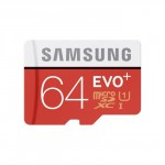 Samsung EVO plus 64GB MicroSDXC Card with adapter Class 10 MB-MC64GA