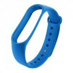 Xiaomi Λουράκι Σιλικόνης (Mi Band 3/4) Μπλε
