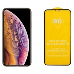 IDOL 1991 Full Cover Tempered Glass (iPhone 11 Pro/XS/X) Black