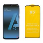 IDOL 1991 Full Cover Tempered Glass (Samsung A40) Black