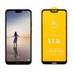 IDOL 1991 Full Cover Tempered Glass (Huawei P20 Lite) Black