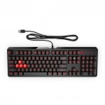 HP OMEN 1100 Keyboard Black-Red
