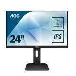 "AOC  LCD IPS FHD Ergonomic Business Monitor 24"" (24P1)"