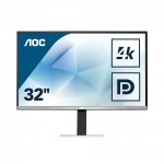 AOC  Led 4K UHD Monitor 32'' with speakers (U3277FWQ)