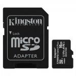 Kingston Micro Secure Digital 16GB microSDXC Canvas Select Plus 80R CL10 UHS-I Card + SD Adapter (SDCS2/16GB)