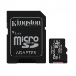 Kingston Micro Secure Digital 512GB microSDXC Canvas Select Plus 80R CL10 UHS-I Card + SD Adapter (SDCS2/512GB)