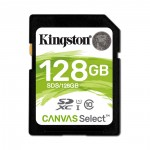 Kingston Flash card SD 128GB  Canvas Select Plus (SDS2/128GB)