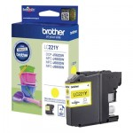 Brother Μελάνι Inkjet LC-221 Yellow (LC-221Y) (BRO-LC-221Y)