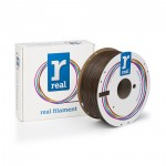 REAL ABS 3D Printer Filament - Brown - spool of 1Kg - 1.75mm (REFABSBROWN1000MM175)