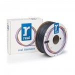 REAL ABS 3D Printer Filament - Gray - spool of 1Kg - 2.85mm (REFABSGRAY1000MM3)