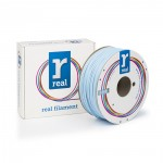 REAL ABS 3D Printer Filament - Light Blue - spool of 1Kg - 1.75mm (REFABSLBLUE1000MM175)