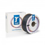 REAL ABS 3D Printer Filament - Gray - spool of 1Kg - 1.75mm (REFABSGRAY1000MM175)