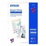 Bright White Inkjet Paper EPSON A4 90g/m² 500 Φύλλα (C13S041749) (EPSS041749)