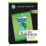 HP No.935XL Office Value Pack +75sh Paper A4 210x297mm (HPF6U78AE)