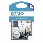 Flexible Nylon Tape Dymo D1 16958  19mm x 3,5m (Μαύρα Γράμματα σε Λευκό Φόντο) (S0718050) (DYMO16958)