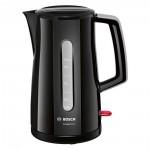 Bosch Βραστήρας 2400W 1.7lt Μαύρο (TWK3A013)