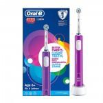 Ηλεκτρική Οδοντόβουρτσα Oral-B Junior Purple (BRAJUNIORPURPLE)