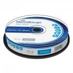 MediaRange BD-R Blu-Ray 50GB 6x Cake Box x10 Dual Layer (MR507)