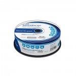 MediaRange BD-R 25GB 6x Inkjet Fullsurface Printable Cake Box x 25 (MR515)