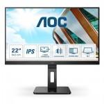 """AOC 22P2DU Led FHD Business Monitor 22"""" with Speakers (22P2DU) (AOC22P2DU)"""