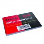 Εξώφυλλο Βιβλιοδεσίας A4 BLACK RED (Διάφανο) (BR128300)