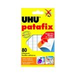 Patafix Glue Pads UHU Λευκό (80) (42620-5) (UHUPATAFIX)