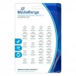 Αλκαλική Μπαταρία MediaRange Premium Coin Cells Assorted Set (20 Pack) (MRBAT119)