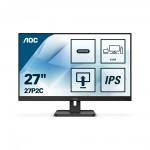AOC 27P2C Led Ergonomic Monitor 27'' with speakers (27P2C) (AOC27P2C)