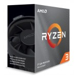 AMD CPU Ryzen 3 3100, 3.6GHz, 4 Cores, AM4, 18MB, Wraith Stealth cooler