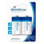MEDIARANGE Premium αλκαλικές μπαταρίες Mono D LR20, 1.5V, 2τμχ
