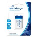 MEDIARANGE Premium αλκαλική μπαταρία E-Block|6LR61 9V Pack 1