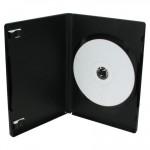 Θήκη CD/DVD, 14mm, μαύρη, 50τμχ