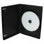 DVD Θήκη για 1 Disc 14 χιλιοστά, μαύρη, 100τμχ