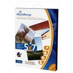 MEDIARANGE 130x180mm PP CARD, GLOSSY, 220g, 50τμχ (MRINK114)