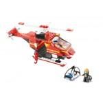 SLUBAN Τουβλάκια Fire, Rescue Helicopter M38-B0218, 155τμχ