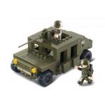 SLUBAN Τουβλάκια Army, Armoured Car M38-B0297, 175τμχ