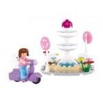 SLUBAN Τουβλάκια Girls Dream, Fountain M38-B0519, 79τμχ