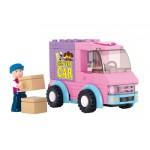 SLUBAN Τουβλάκια Girls Dream, Delivery Van M38-B0520, 102τμχ