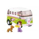 SLUBAN Τουβλάκια Girls Dream, Camper M38-B0523, 158τμχ