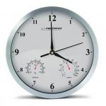 ESPERANZA ρολόι τοίχου Lyon EHC016W, 25cm, λευκό