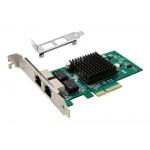 POWERTECH Κάρτα Επέκτασης PCI-e σε 2x LAN, Chip Intel 82576