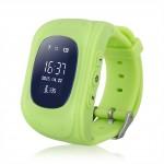 INTIME GPS Παιδικό ρολόι χειρός IT-025, SOS, βηματομετρητής, πράσινο