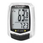 KRUGER&MATZ ηλεκτρονικό ταχύμετρο XT 200 KM0075, 2 users, αδιάβροχο