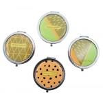 Καθρεφτάκι τσάντας TMV-0019, 2x & 4x zoom, 7x7cm, 12τμχ