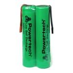 POWERTECH επαναφορτιζόμενη μπαταρία PT-789 800mAh, AAΑ (HR03), 2τμχ