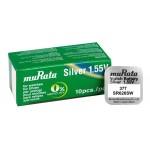 MURATA μπαταρία Silver Oxide για ρολόγια SR626SW, 1.55V, No 377, 10τμχ