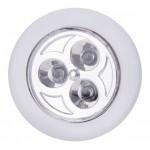 EMOS LED φωτιστικό P3819, 12lm, 15m, λευκό, 3τμχ