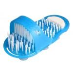 EASY FEET Παντόφλα μασάζ, καθαρισμού & απολέπισης ποδιών CLN-0005, μπλε