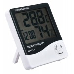 Επιτραπέζιο ρολόι AG246A, με υγρόμετρο & θερμοκρασία