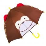 JIPILI παιδική ομπρέλα 3D UMB-0001, μαϊμού